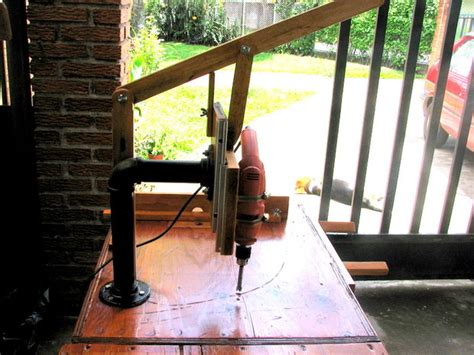 homemade drill press table plans  woodworking