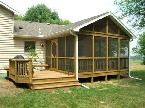 Screened In Deck Indoor Screened Deck Back Porch Design Back Porch Design
