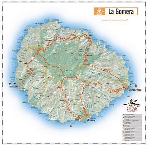 printable map gran canaria karten kanarischen cicar