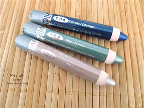 Lipstik Pensil Pixy n idol creme shadow pencil review makeupfu
