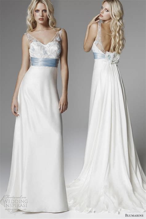 hochzeitskleid hellblau blumarine 2013 bridal collection wedding inspirasi page 2