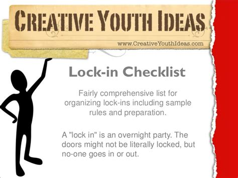 Themes For Church Lock In | youth group lock in ideas