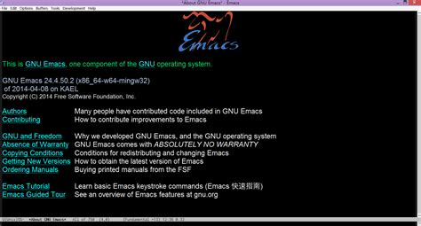 emacs workflow emacs w64 64 bit gnu emacs for ms windows with optimization