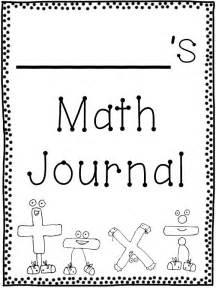 Math Journal Template by Tonya S Treats For Teachers January 2013
