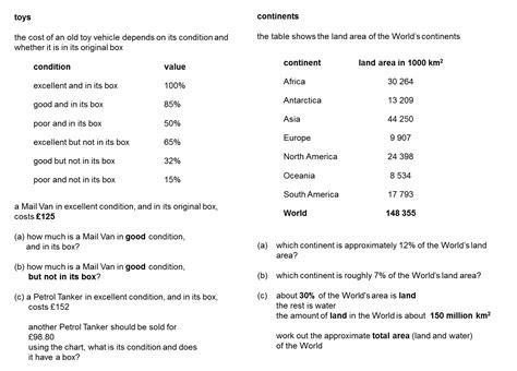 Quiz Questions Ks3 | median don steward mathematics teaching percentages ks3