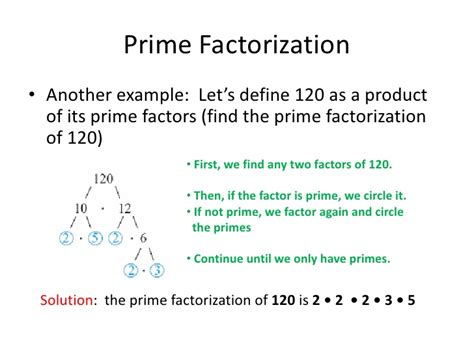 finding prime factors of n and their multiplicities prime factorization fractions