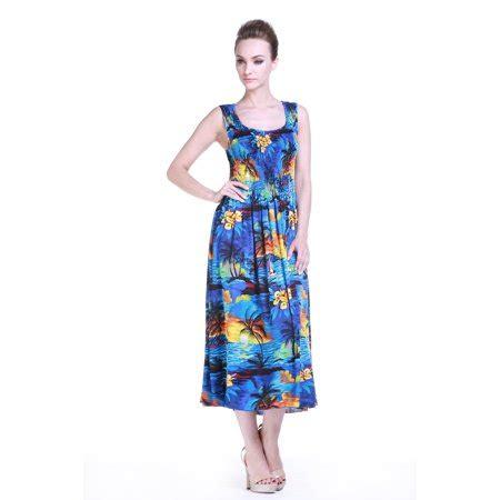 Gamis Set Maxi Dress 74 hawaiian dress luau dress maxi tank elastic dress in