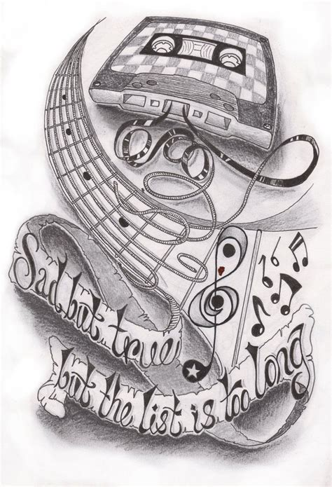 half sleeve music tattoo designs half sleeve by dfletcher54734 deviantart on