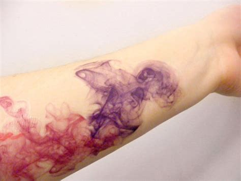 painless tattoo painless temporary tattoos abstract watercolor