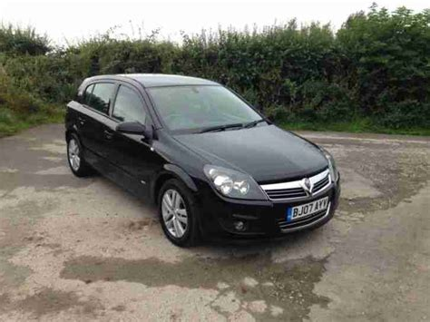 vauxhall astra 2007 2007 vauxhall astra sxi cdti 5 door black only 2 previous