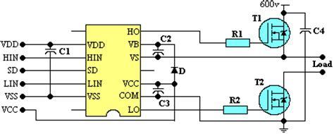 commande transistor igbt le driver de mosfet et d igbt ir2113