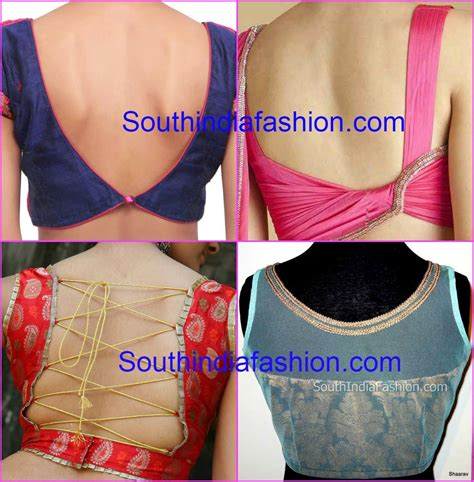 neck pattern blouse design blouse back neck designs
