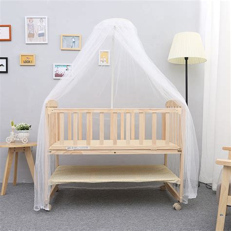 solid wood mini crib swinging cribs for babies promotion shop for promotional