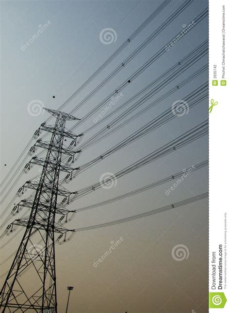 electric wire stock photography image 2635742