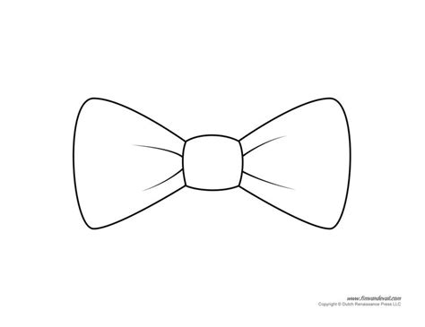 bow tie drawing paper bow tie templates bow tie