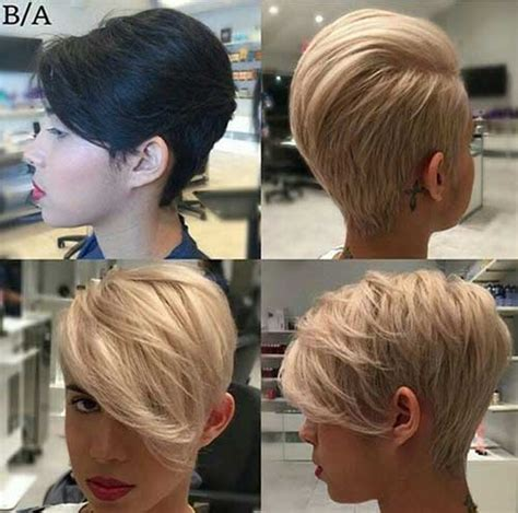 15 Best Short Blonde Pixie Haircuts   Pixie Cut 2015