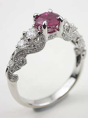 antique jewelry at topazery unique engagement rings