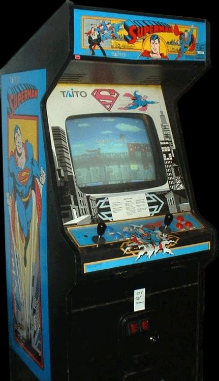 this superman arcade machine is neither a quotspecialquot nor