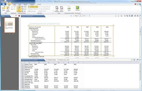 converter pdf to excel convert pdf to excel with best free pdf converter