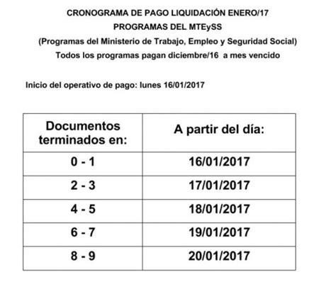 cronograma de pago de los programas del ministerio de trabajo megalatina fm cronograma de pagos de los programas