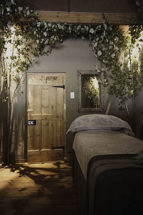 forest bedroom decor secret garden massage room spa design ideas pinterest