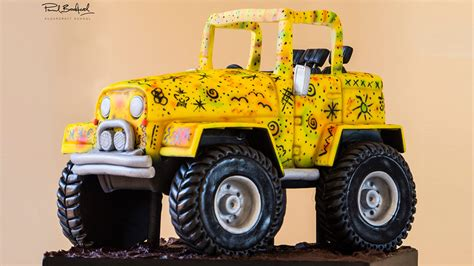 jeep cake tutorial jeep cake online cake decorating tutorials