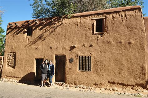 Oldest House In America by The Oldest House In America Santa Fe Velazquez