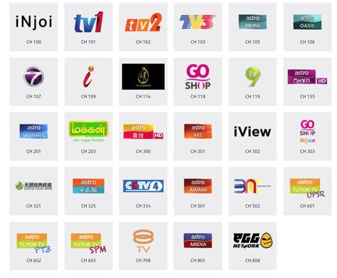 Harga Channel Njoi senarai saluran bagi pakej njoi astro 2018 ali