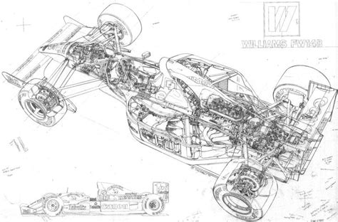 Formula 1 Sketches by 189 Best Images About Racecar Cutaways On Cars