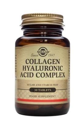 Collagen Complex collagen hyaluronic acid complex tablets 30 tablets