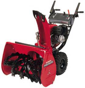 Honda Hs928 Snowblower Honda Snow Blowers And Throwers Are These The