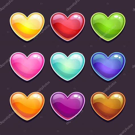 imagenes de jesucristo brillantes corazones brillantes en diferentes colores archivo