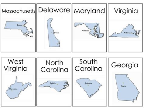 printable state shapes 4 best images of individual states printables 50 states