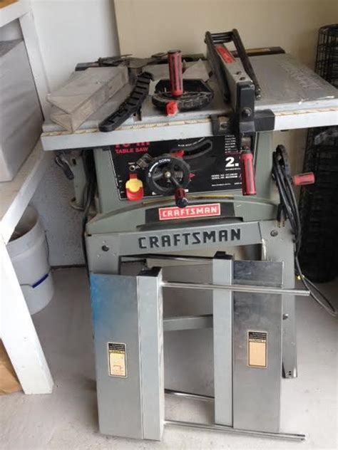 Craftsman Table Saw 2 7 Model 137 248481 Nex Tech