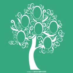Family Tree Downloadable Template by Green Family Tree Template Vector