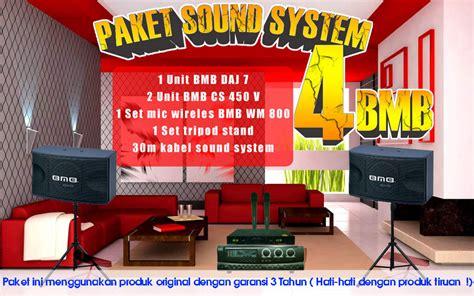 Paket Soundsistem Bmb paket sound system 4 bmb