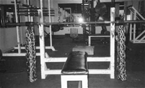 bench press with chains bench press chains