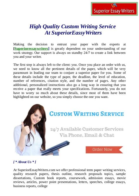 Custom Essay Writing Service Reviews by Term Paper Writing Services Reviews Writing Service