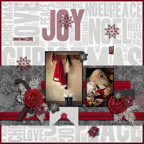 christmas layout design inspiration 538 best scrapbook christmas images on pinterest