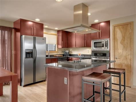 non wood kitchen cabinets contemporary cherry wood kitchen cabinets with non photos hgtv