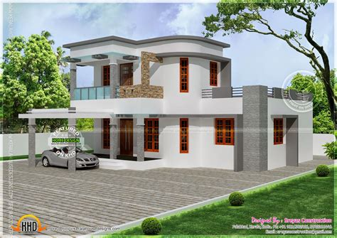 round house designs plans flat with curvy mix roof house kerala home design and floor plans