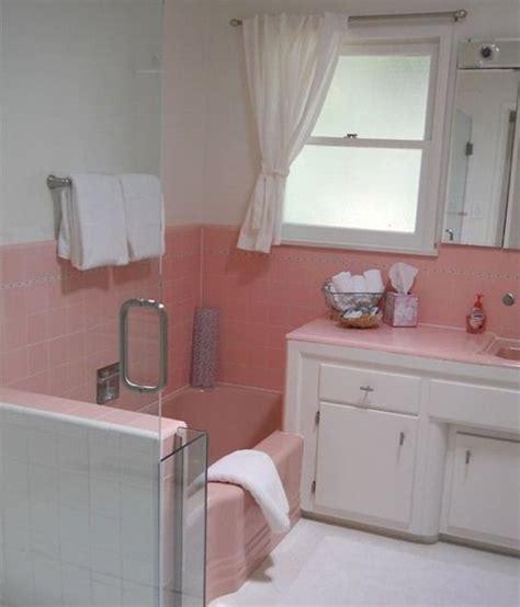 pink tile bathroom ideas small bathroom awesome ideas for preserving pastel retro original