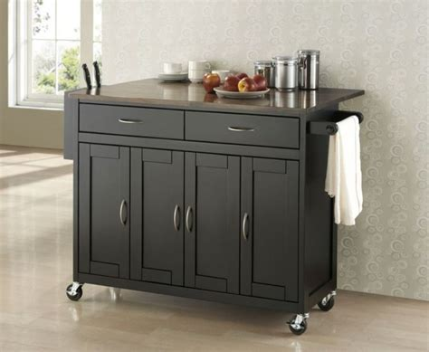 Kitchen Cabinet On Wheels by Decoration Stunning Narrow Kitchen Island On Wheels With