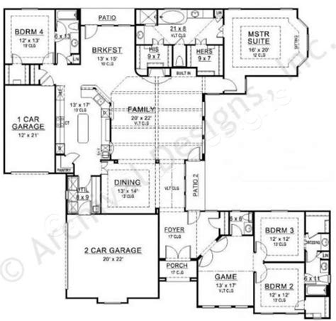 peavy place retirement house plans luxury house plans
