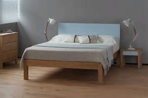 Tao   Contemporary Painted Wood Bed   Natural Bed Company