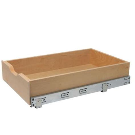 Soft Drawer Boxes by Knape Vogt 14 625 In X 22 In X 5 In Soft Wood
