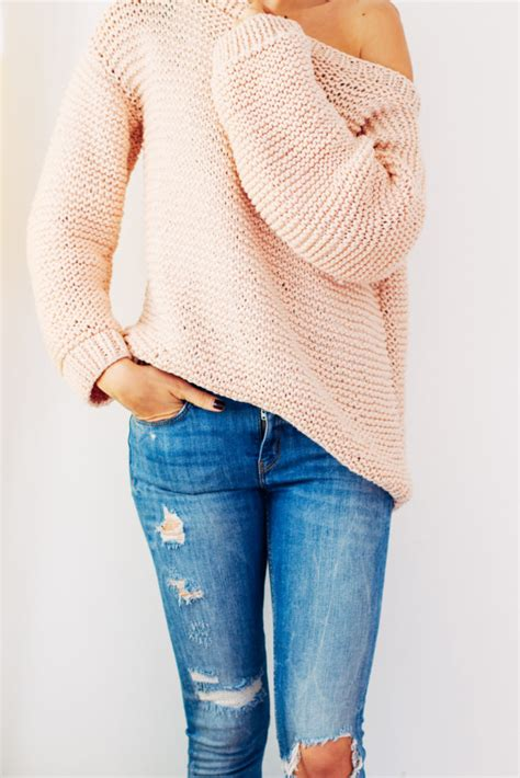knit pattern oversized sweater warm and cozy diy sweaters to keep you warm this winter