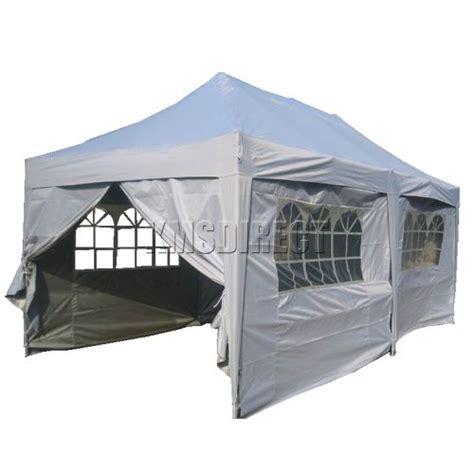 Pop Up Awnings Uk by Waterproof Pop Up Gazebo 3m X 6m Canopy Awning Folding