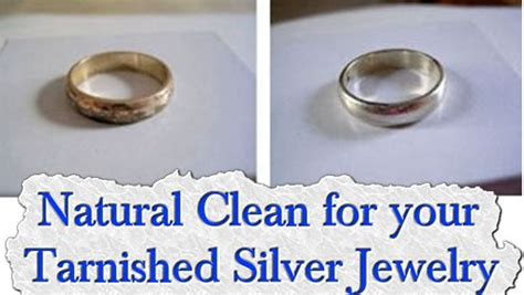 how to make silver jewelry cleaner clean for your tarnished silver jewelry