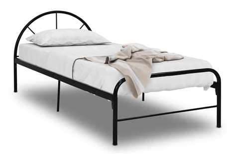 Black Metal Single Bed Frame Bay Single Metal Bed Frame Black Metal Bed Frames Beds Bedroom Furniture Sets